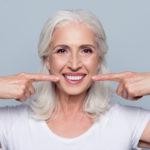 Auch während der Menopause ein strahlendes Lächeln