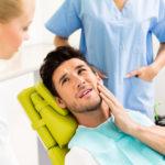 Man hat Zahnschmerzen